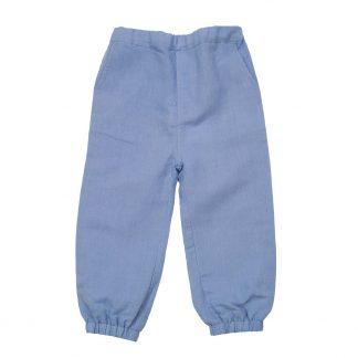 Memini blå linbukse
