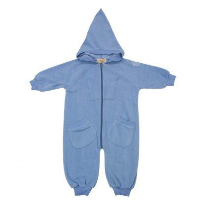 Memini fleecedress blå – Memini blå fleecedress Bunny – Mio Trend