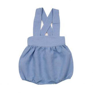 Blå romper til barn