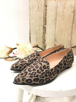 Sko i leopard