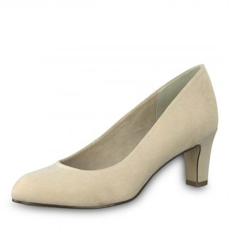 Tamaris beige pumps