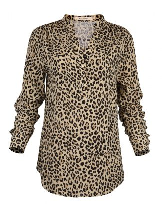 Bluse leopard