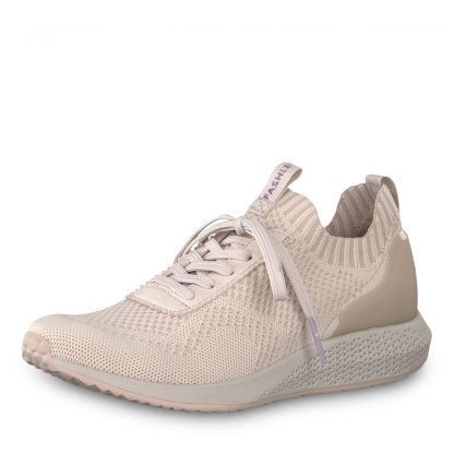 Tamaris sko rosa – Tamaris lys rosa sneakers i mesh – Mio Trend