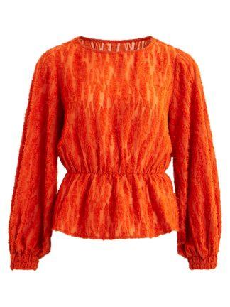 Vila oransje bluse