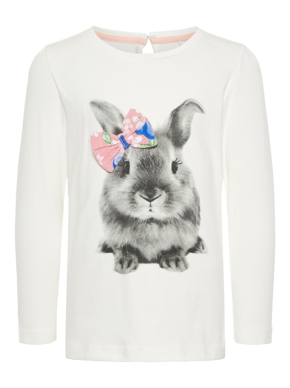 b7da8bf8 Genser med kanin. Name it genser til jente. Name It klær til barn.