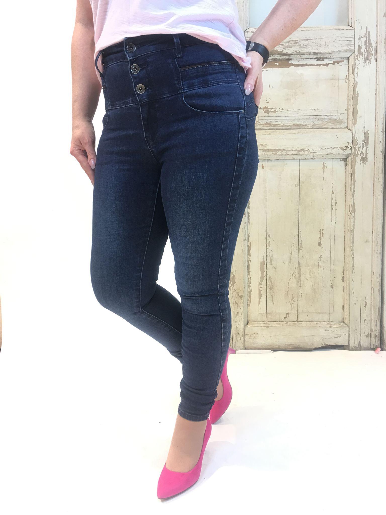 93d7b284 Pepper bukse høyt liv – Pepper jeans med ekstra høyt liv – Mio Trend