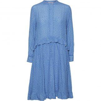 Norr blå kjole