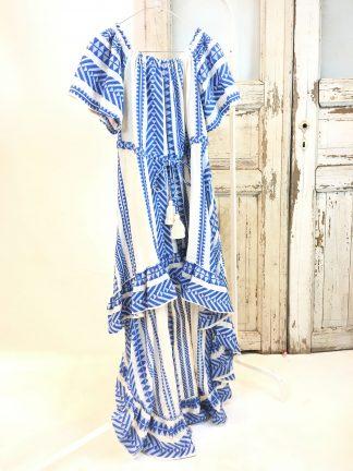 Devotion blå lang kjole