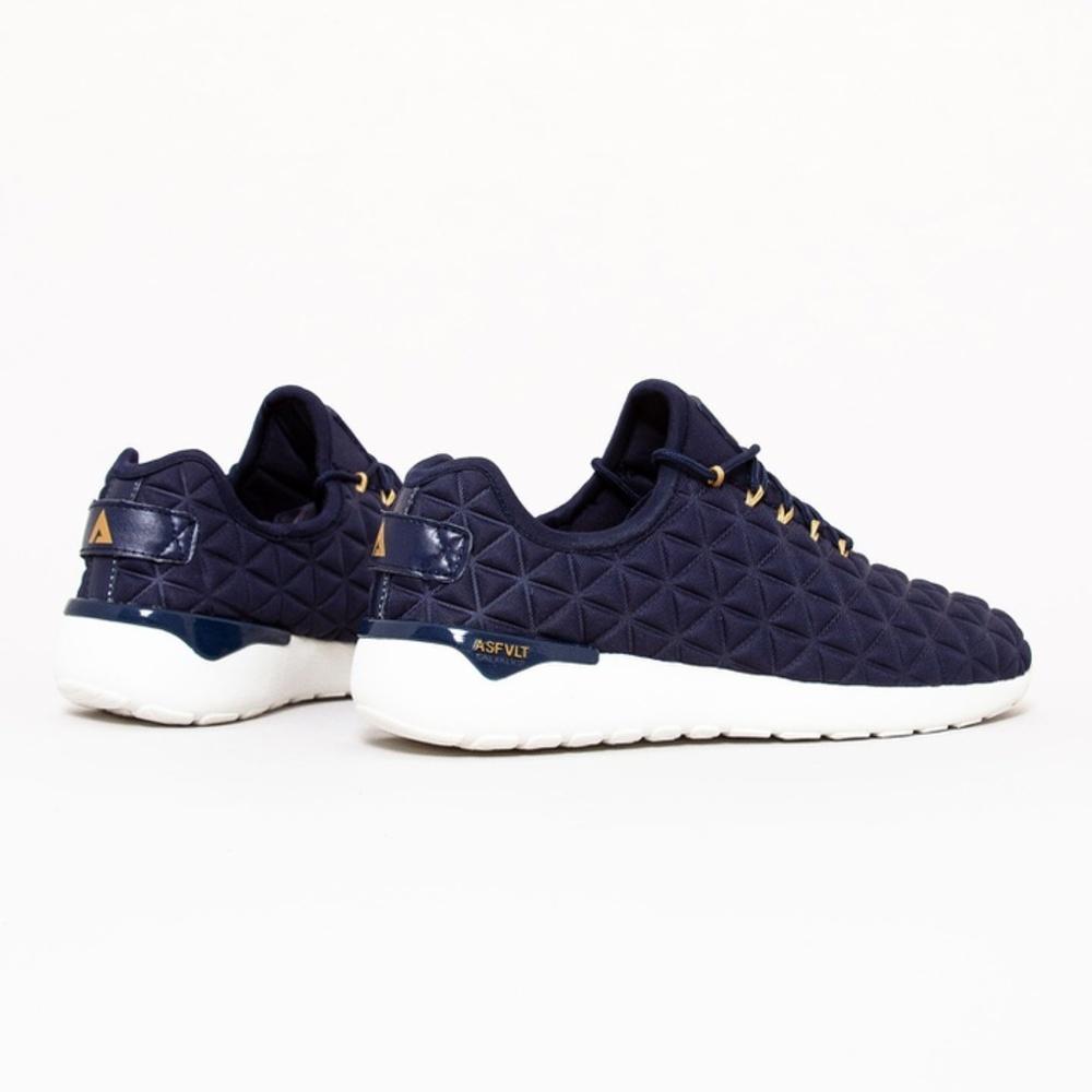 b32ec2ca Asfvlt marineblå sko. Joggesko fra Asfalt. Speed Sock mørek blå sko