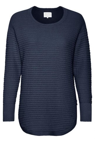 Part Two mørkeblå genser