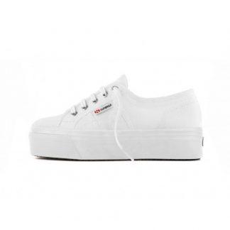Superga hvite sko
