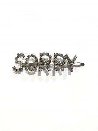 Hårspenne SORRY