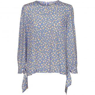 NORR lyse blå bluse