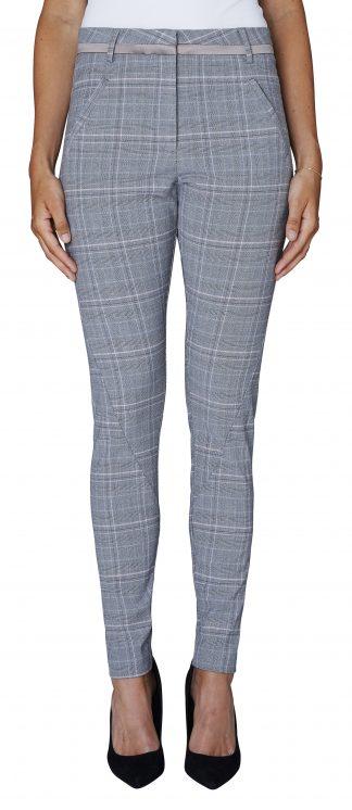 FiveUnits bukse grå rosa