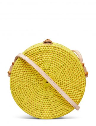 Farrow veske gul rund