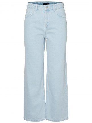 Jeans med høyt liv