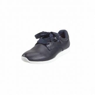 Tamaris navy sneaker skinn