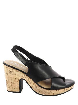 Tamaris sandal med korksåle
