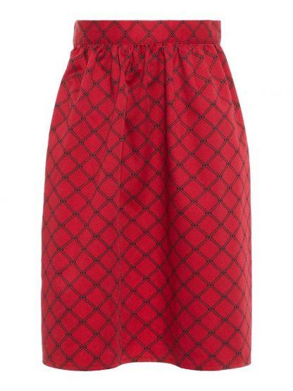 Forklè til barnebunad – Name It rødt forklè til bunad - mini – Mio Trend