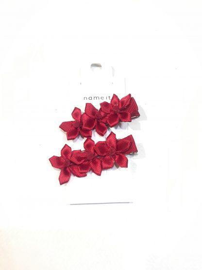 Hårpynt til bunad – Name It rød hårpynt til bunad – Mio Trend