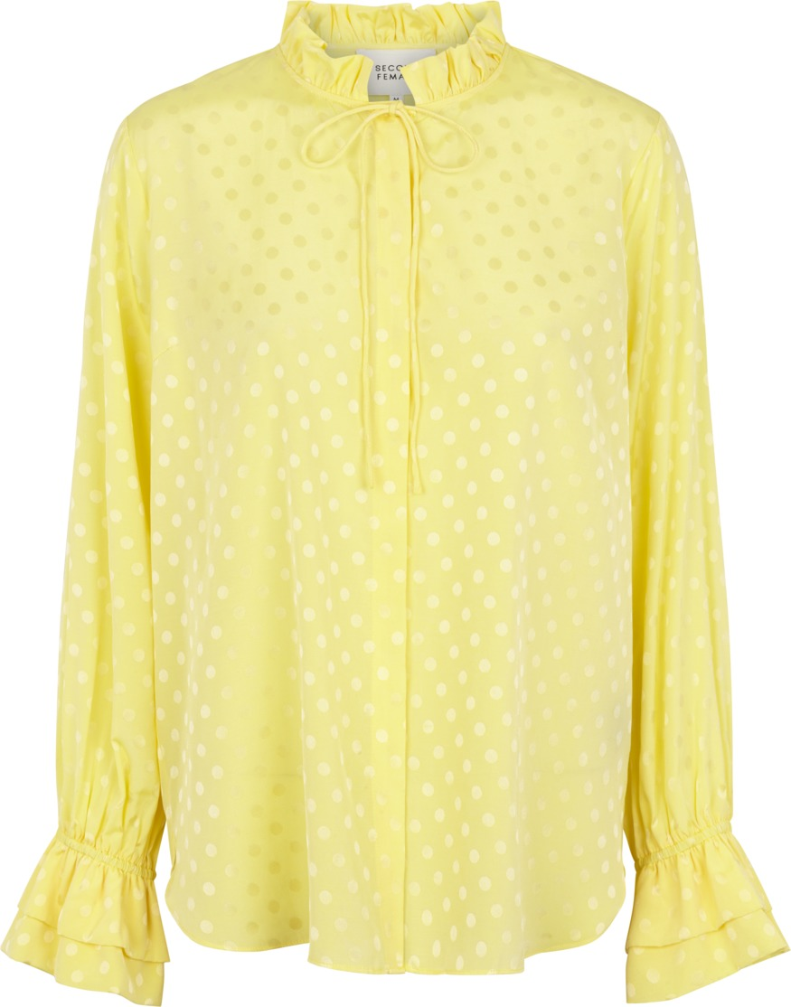 1bad27df Gul bluse Second Female – Second Female gul bluse Mardi – Mio Trend