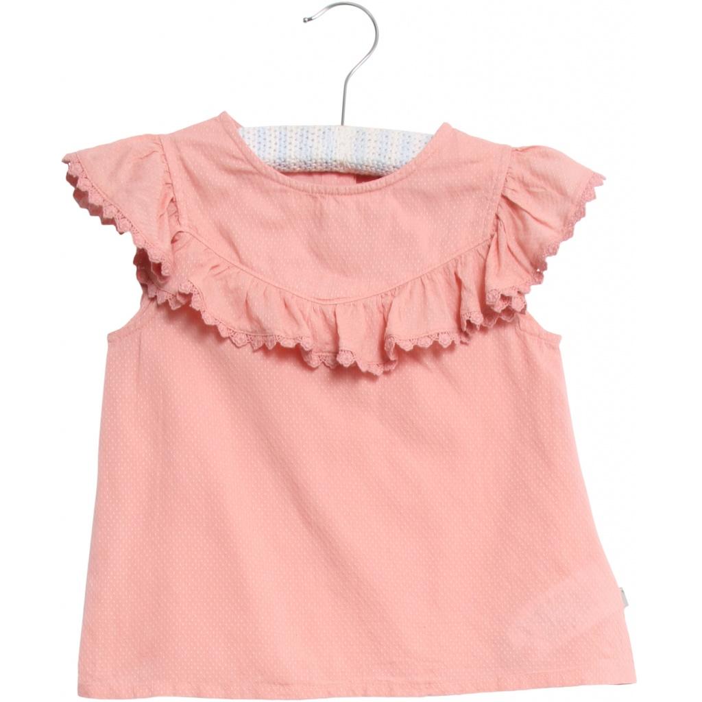 e63235f9 Wheat rosa topp til jente. Bluse og topp uten armer. Singlet fra Wheat.