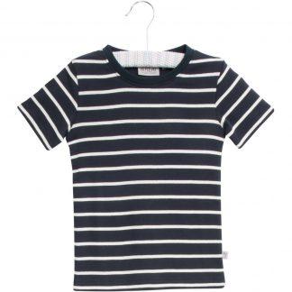 Wheat t-skjorte blå