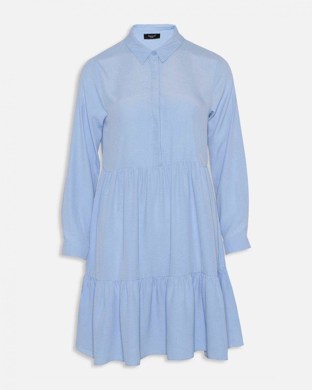 39dc2332e9de Sisters Point blå kjole – Sisters Point lyse blå kjole Gloss – Mio Trend