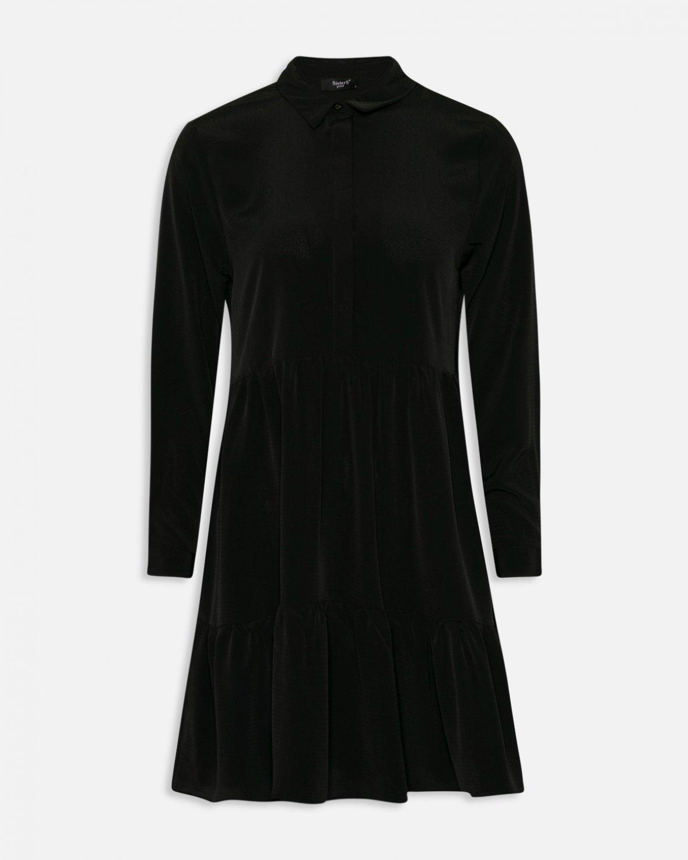add6ece8ccc8 Sisters Point sort kjole. Gloss dress. Svart kjole fra Sisters Point.