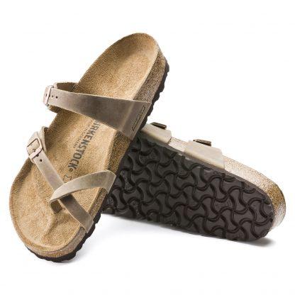 Birkenstock sandal Mayari brun – Birkenstock sandal Mayari tabacco brown – Mio Trend
