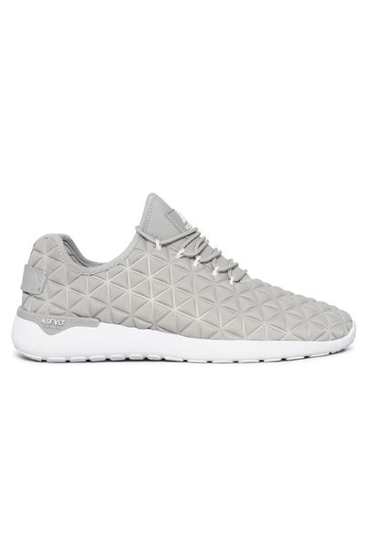 7b16ae2a Asfvlt grå joggesko Speed Socks. Grå sko med ruter. Asfalt sko