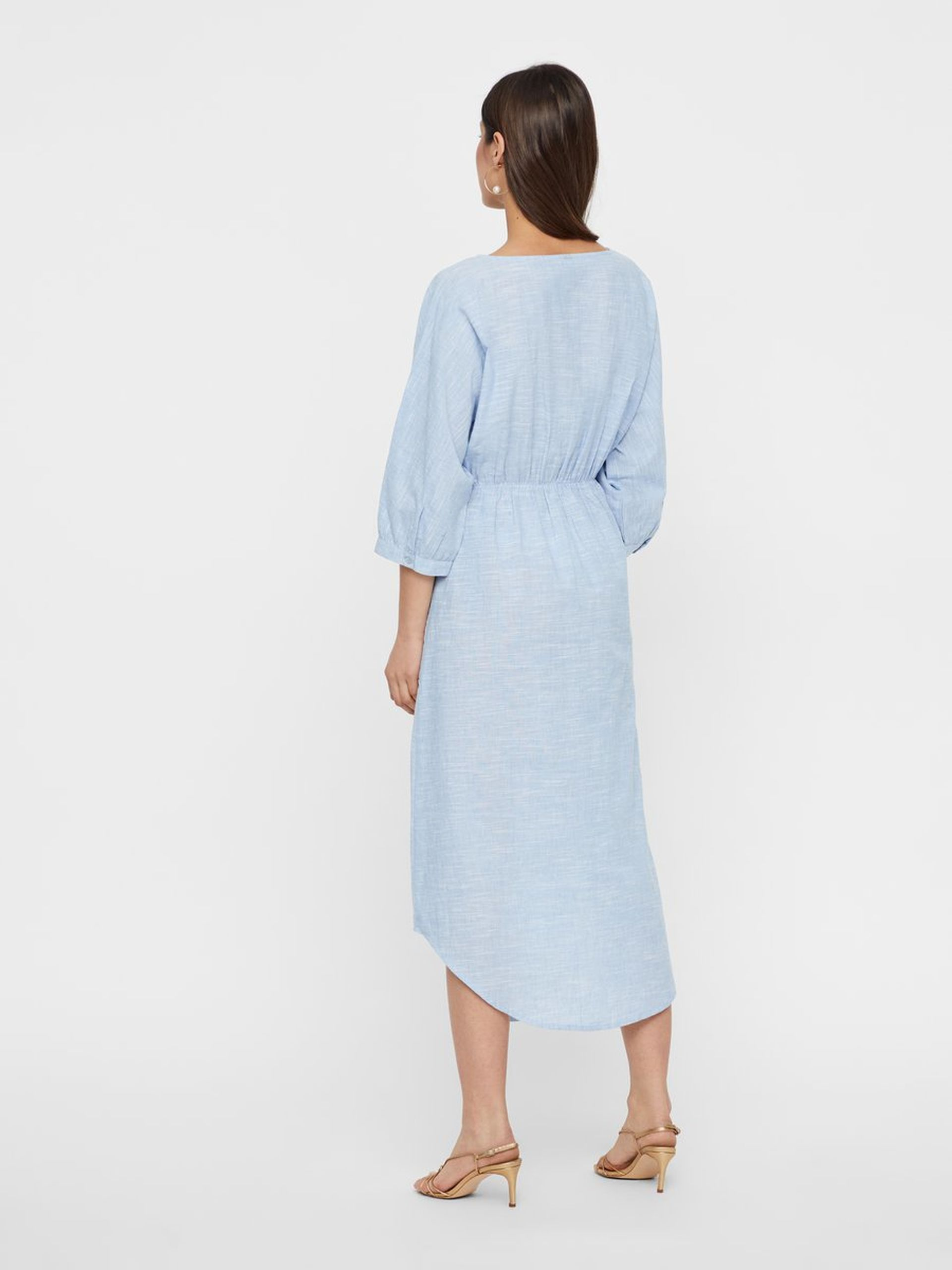 4ec8a66c Lyse blå kjole, skjortekjole fra Yas. Hverdagskjole fra Y.A.S.