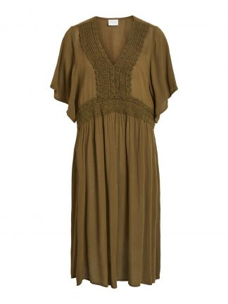 bbb32a85 grønn kaftan / kjole. På salg! kr 400.00 kr 279.00 Vila · Kjøp · Lyse blå  kjole
