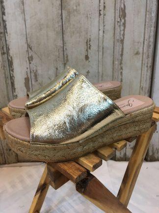 Gaimo sandaler gull