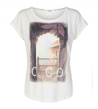 Cocuture hvit t-skjorte