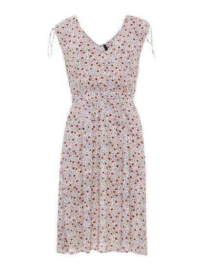 Sommerkjole fra Yas – Y.A.S kjole med blomster  – Mio Trend