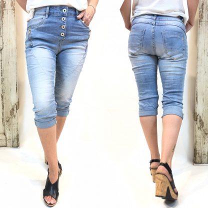 Shorts fra Pepper – Pepper caprishorts med glidelås – Mio Trend