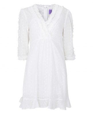 Hvit kjole Line of Oslo