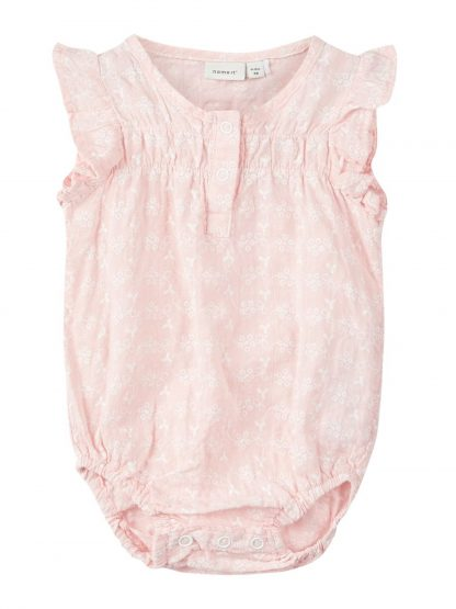 Rumba til baby – Sparkebukse/overall rosa rumba  – Mio Trend