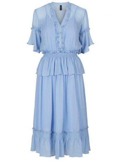 Lyse blå penkjole yas – Y.A.S lyse blå kjole Tenda – Mio Trend