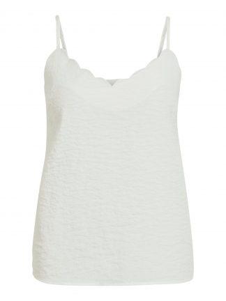 Vila singlet off white