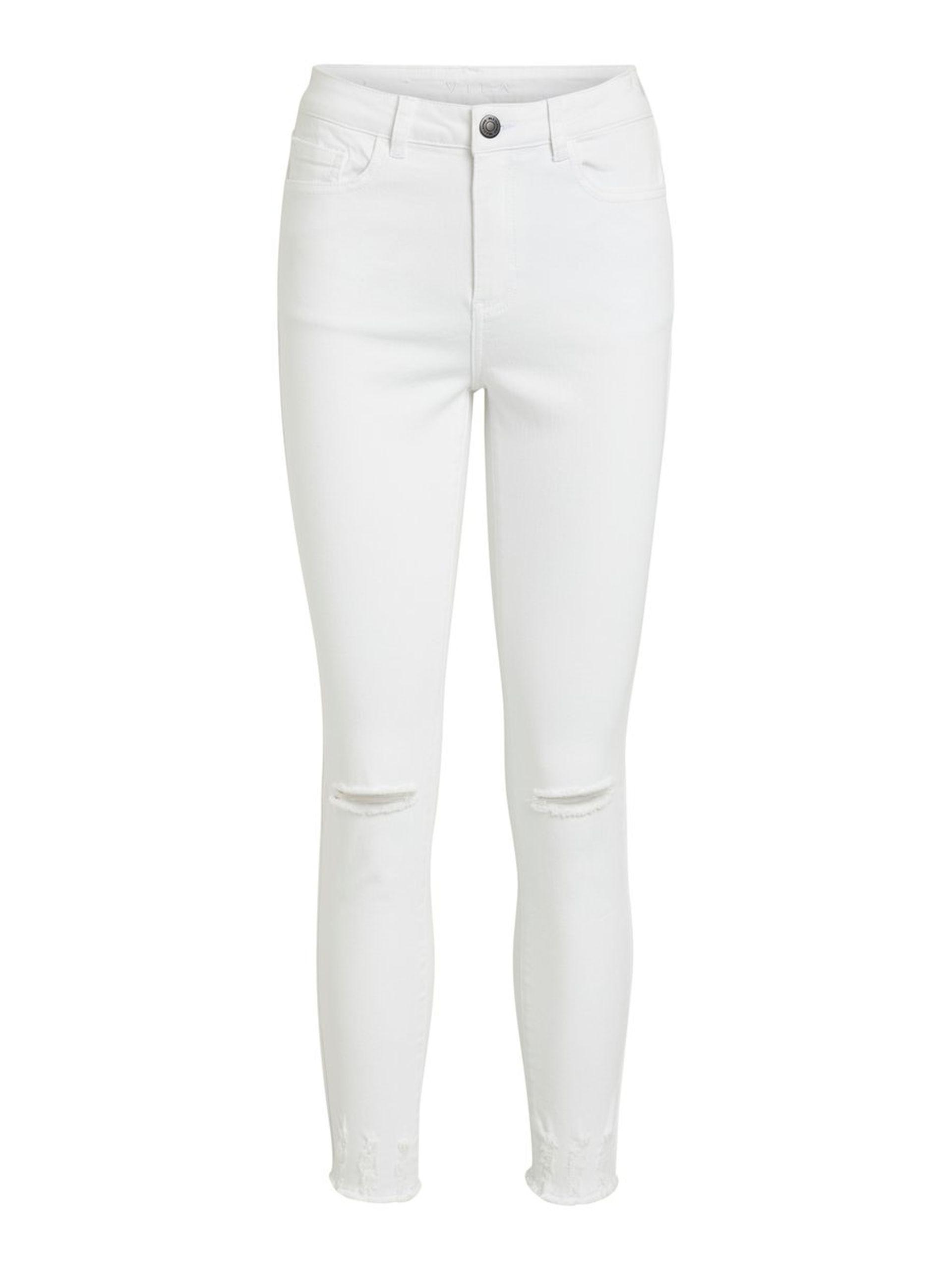 39ce84e8 Vila hvit bukse hvit jeans med hull. Hvit bukse fra Vila. Hvite jeans.