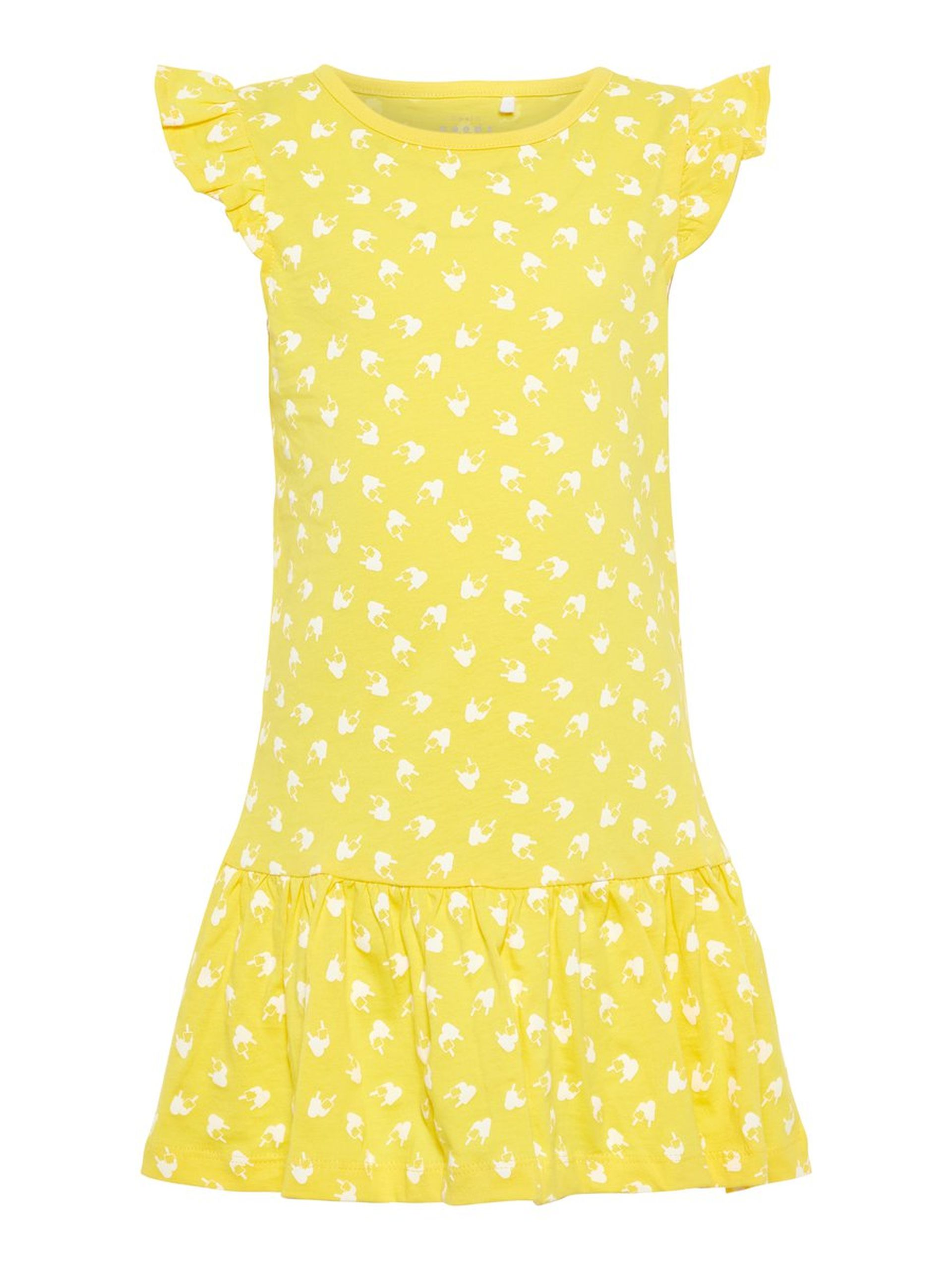 22390d7fe139 Name It gul kjole – Name It gul sommerkjole – Mio Trend