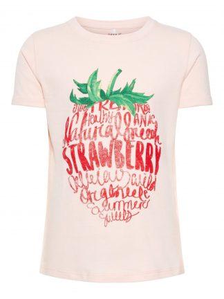 Name It rosa t-skjorte