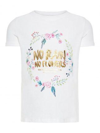 Hvit t-skjorte Name It