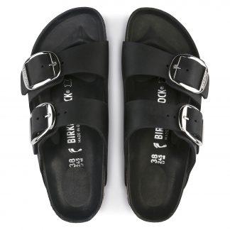 Birkenstock sort sandal dame