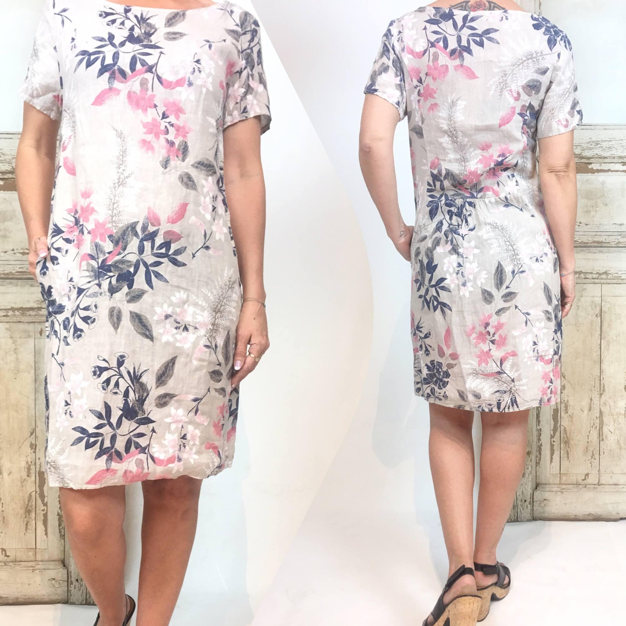 969c888a Linkjole fra Pepper. Beige kjole i 100% lin. Kjole fra Peppe, kjole ...