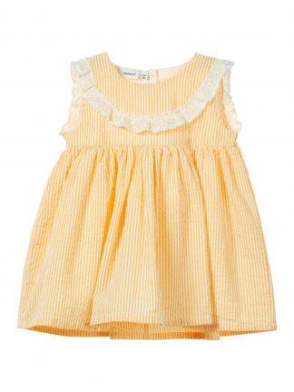 Gul sommerkjole baby