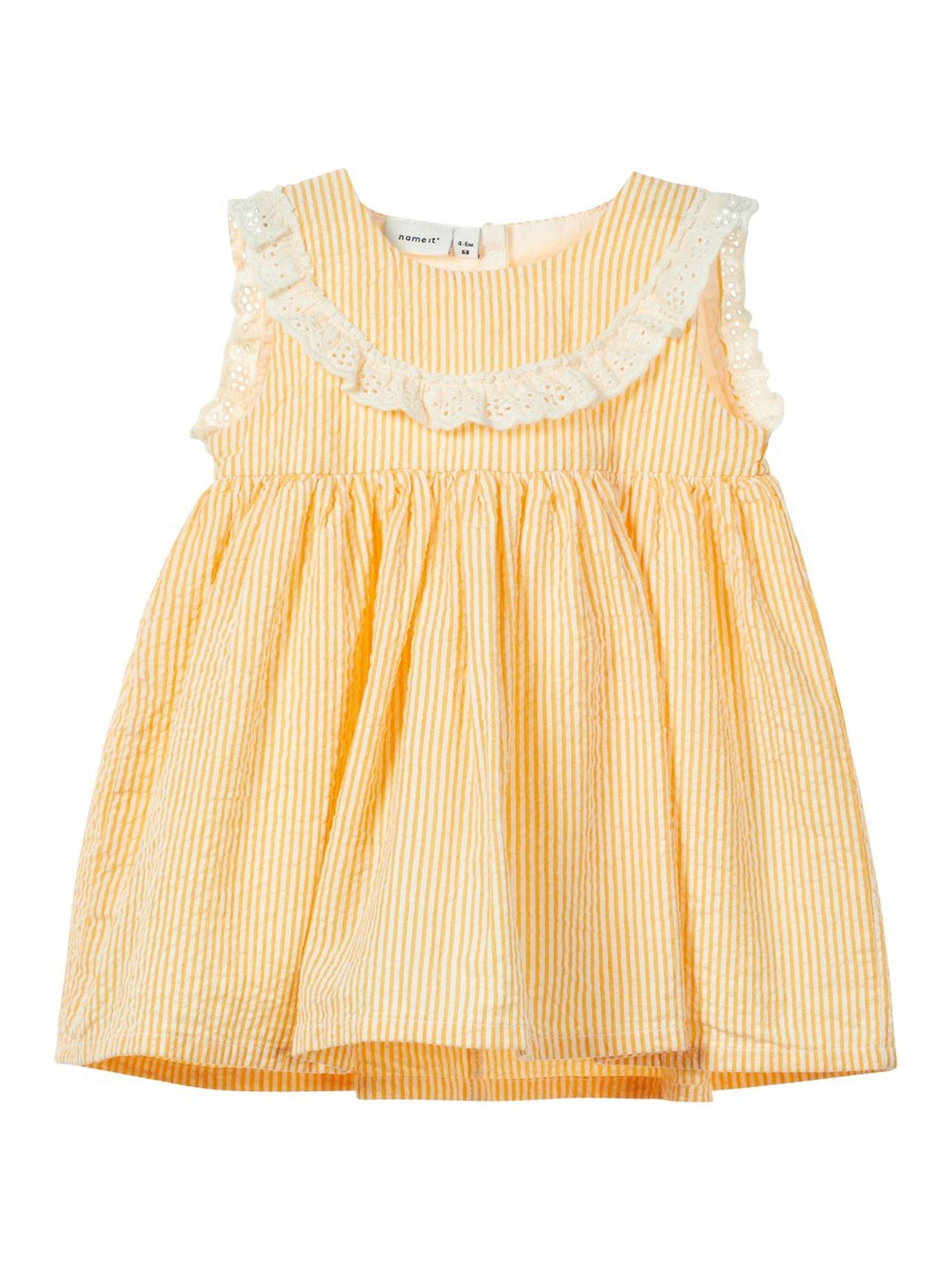 13ee27ce Gul sommerkjole baby, gul kjole til barn fra Name It. Sommerkjole ...