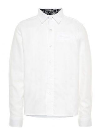 Hvit skjorte til gutt